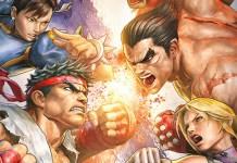 Tekken X Street Fighter em pausa