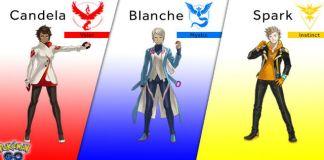 Pokémon Go - revelados líderes de equipa
