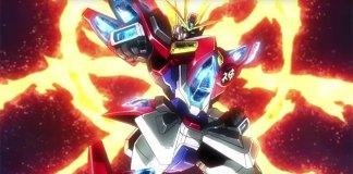 Gundam Build Fighters Try Island Wars com legendas em inglês