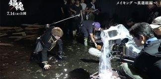 Gintama Live-action – Novo vídeo dos Bastidores