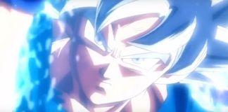 Primeira vista de Goku na forma Ultra Instinto Perfeito