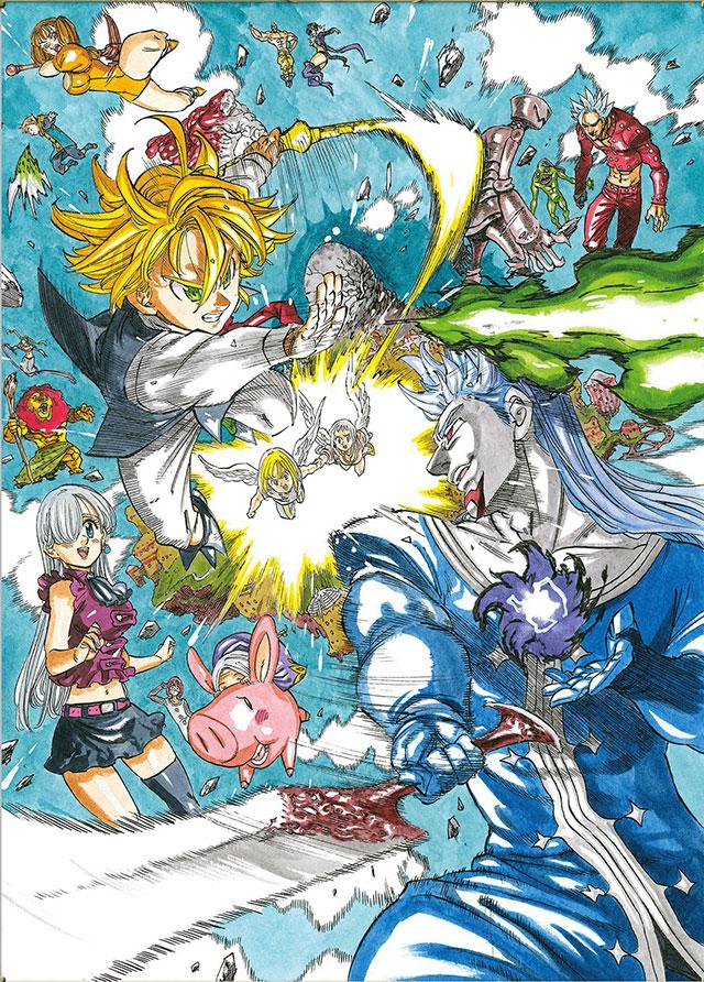Trailer do filme anime de Nanatsu no Taizai