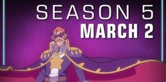 Voltron: Legendary Defender 5 em Março