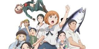 Nova imagem promocional de Chio-chan no Tsuugakuro