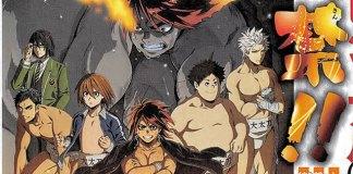 Imagem promocional e elenco de Hinomaru Zumou