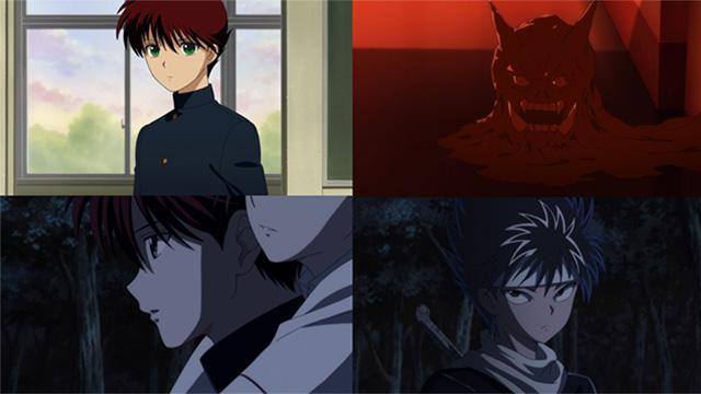 Screenshots do OVA de Yu Yu Hakusho