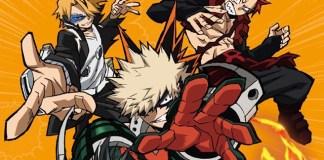 Capa do 3º volume DVD/BD de My Hero Academia 3