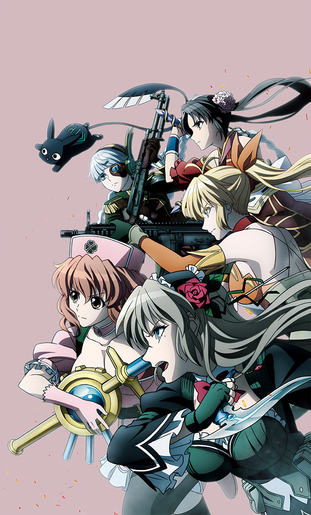 Nova imagem promocional de Magical Girl Special Ops Asuka