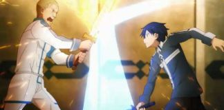 Trailer do episódio 8 de Sword Art Online Alicization