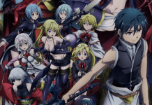 Trailer e visual do 2º filme de Trinity Seven