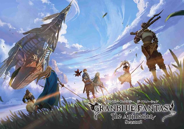 Granblue Fantasy the Animation 2 em Outubro
