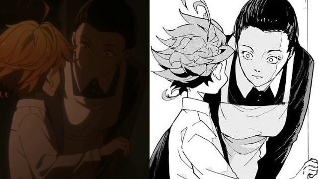 The Promises of Neverland as diferenças entre o mangá e o anime