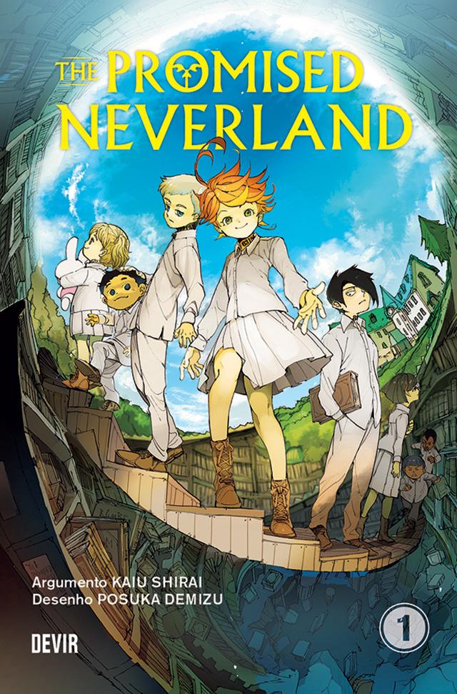 Ganha o 1º volume de The Promised Neverland pela Editora Devir