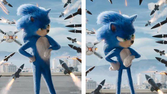 Design de Sonic vai mudar em Sonic – O Filme