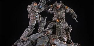 Figura de Gears of War: Marcus vs General RAAM