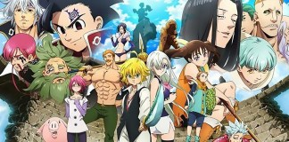 Imagem promocional de Nanatsu no Taizai 3