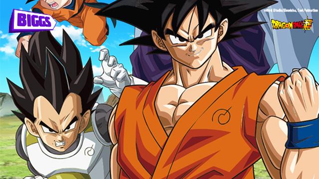 Maratona de 5 episódios de Dragon Ball Super no BIGGS