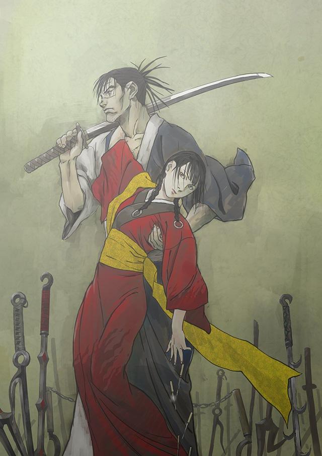 Novo anime de Blade of the Immortal estreia em Outubro pela Liden Films