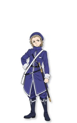 Aoi Ichikawa como Pele, um sargento do Exército Real Alciano sob o comando de Lynn