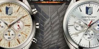 Relógios de Eren e Levi (Attack on Titan)