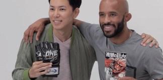 Criador de Attack On Titan conhece o lutador MMA Demetrious Johnson