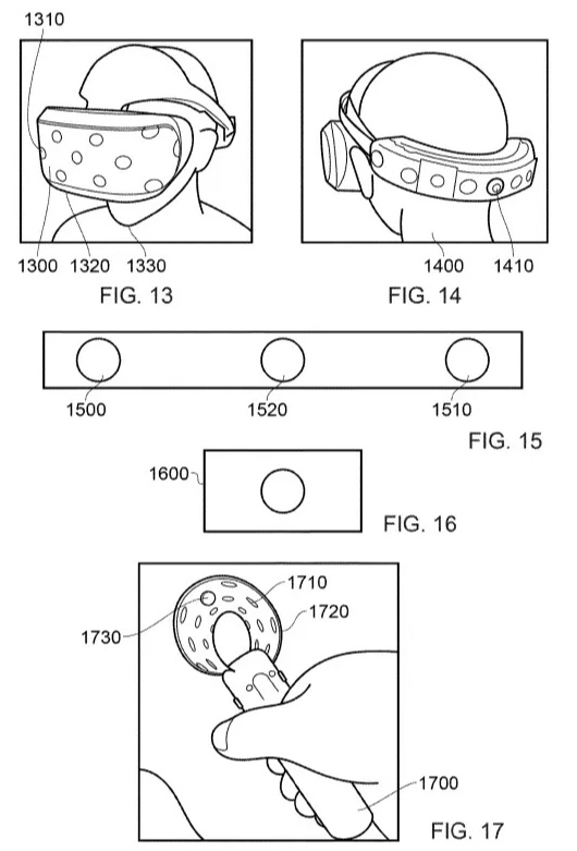 Patente PlayStation VR