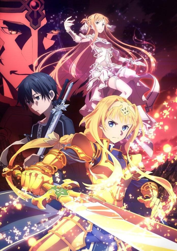 Imagem promocional de Sword Art Online Alicization – War of Underworld
