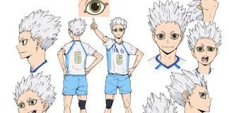 Design de personagens de Haikyu!! 4 (Haikyu!! TO THE TOP)