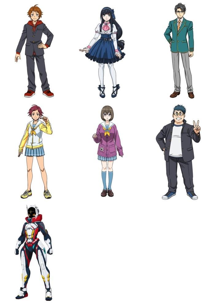 Design de personagens de Shikizakura