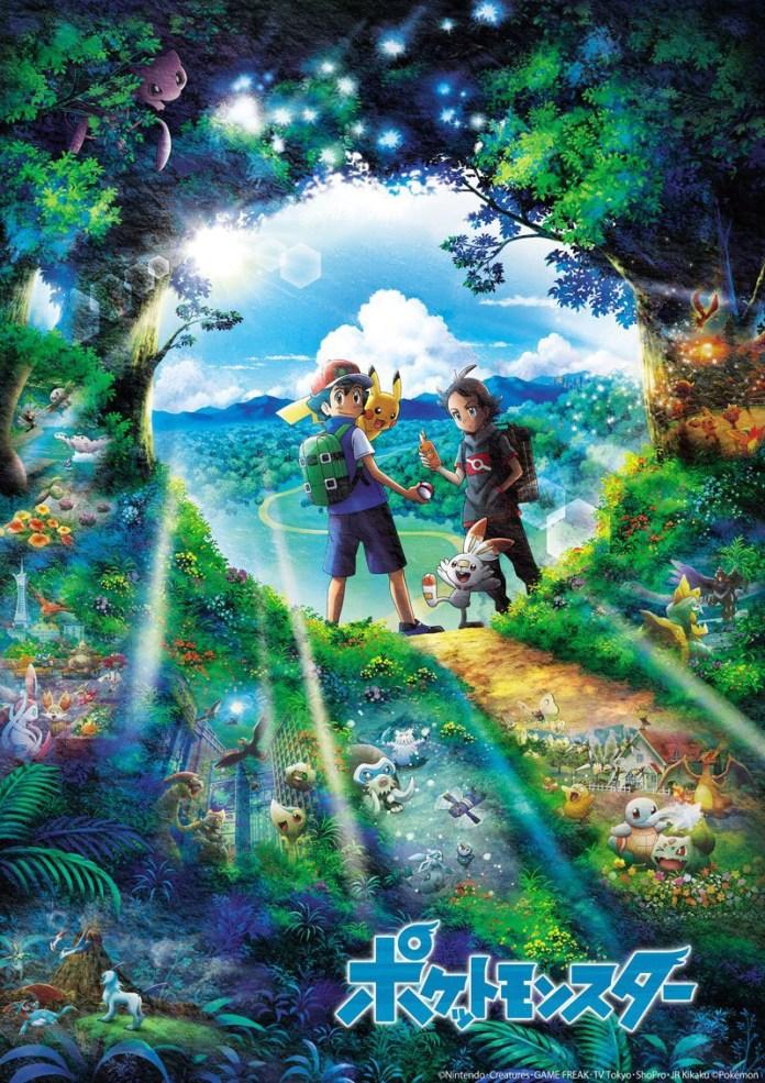 Imagem promocional da nova série anime de Pokémon