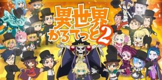 Isekai Quartet 2 já tem data de estreia