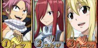 TOP personagens de Fairy Tail