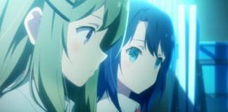 Trailer da série anime yuri Adachi to Shimamura