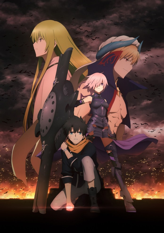 Imagem promocional da 2ª parte de Fate/Grand Order: Babylonia