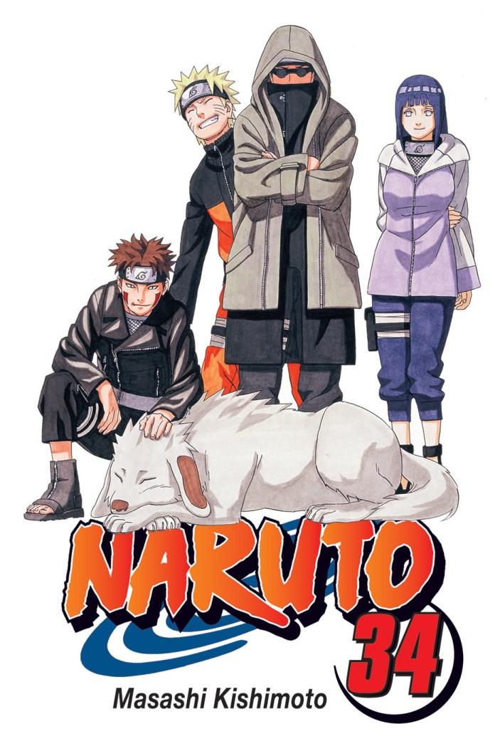 Volume 34 de Naruto pela Devir