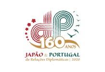 Este é o logótipo dos 160 anos de relações diplomáticas Japão - Portugal