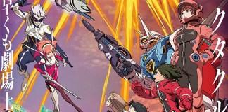 Imagem promocional do 2º filme compilatório de Gundam: Reconguista in G