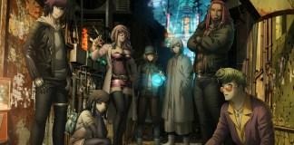Design dos 7 protagonistas de Akudama Drive