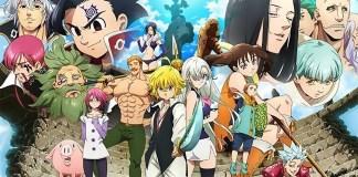 Anunciada nova série anime de Nanatsu no Taizai em Outubro