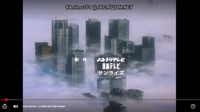 Ups!!! Netflix apanhada a usar legendas pirata no anime de City Hunter