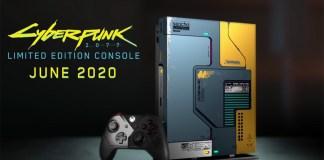 Esta é a Xbox One X de Cyberpunk 2077