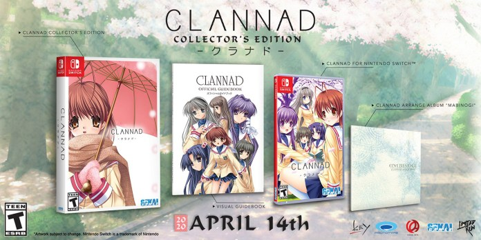 Visual novel Clannad vai ser lançada fisicamente no ocidente para Nintendo Switch