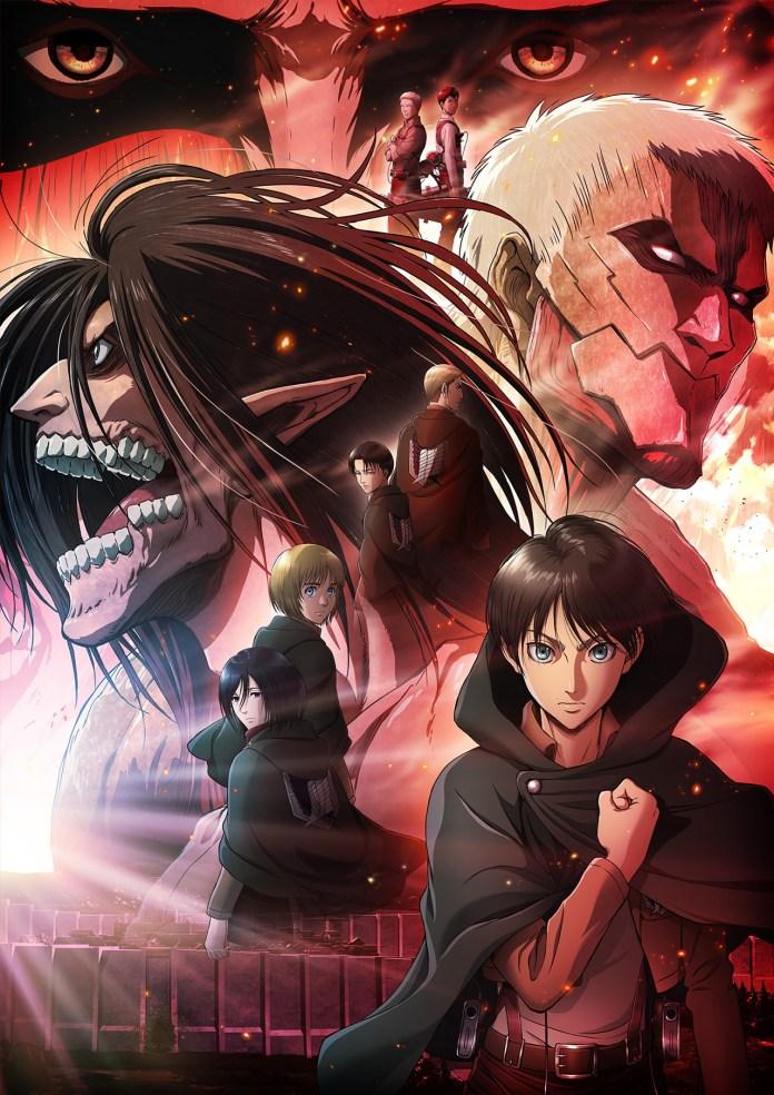 Anunciado filme anime Attack on Titan: Chronicle