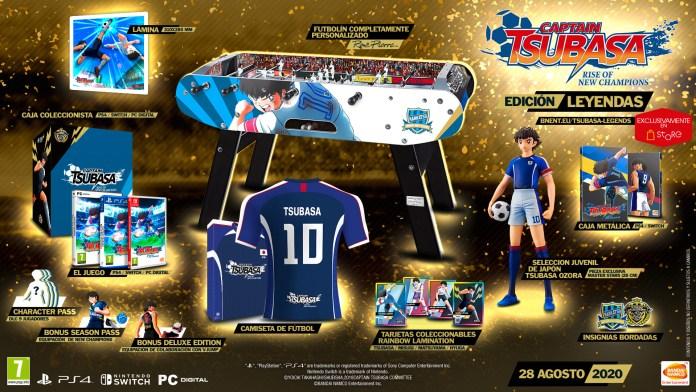 Captain Tsubasa: Rise of New Champions vai ter Edição de Colecionador de 1.999,00 €