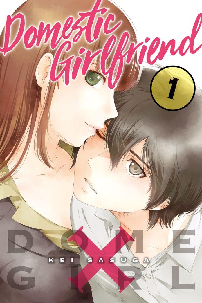 Capa do volume 1 de Domestic na Kanojo (Domestic Girlfriend)