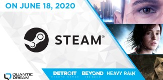 Heavy Rain, Beyond: Two Souls e Detroit: Become Human no Steam a 18 de Junho