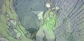 Imagem promocional do filme anime de Kurayukaba