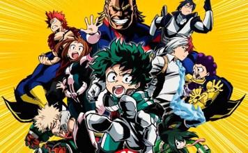 My Hero Academia está sendo dublado no Brasil, mas com elenco diferente do filme