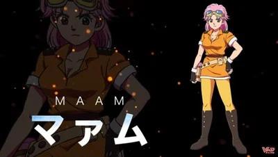 Mikako Komatsu como Maam