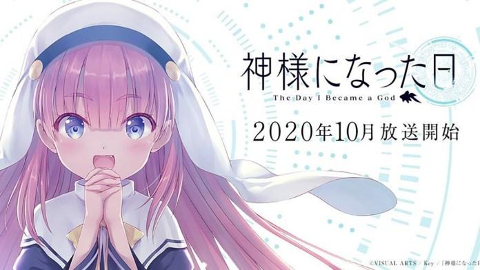 The Day I Became a God é o próximo anime do criador de Clannad e Angel Beats!